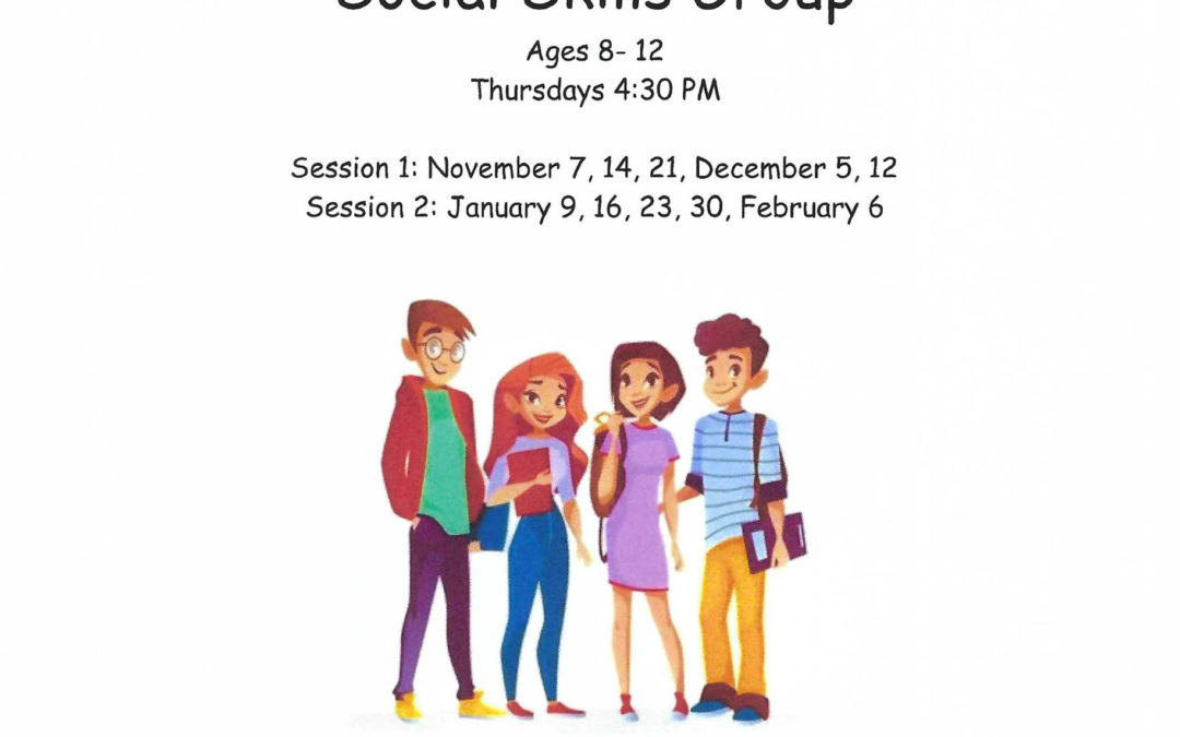 Social Skills Group: Ages 8-12
